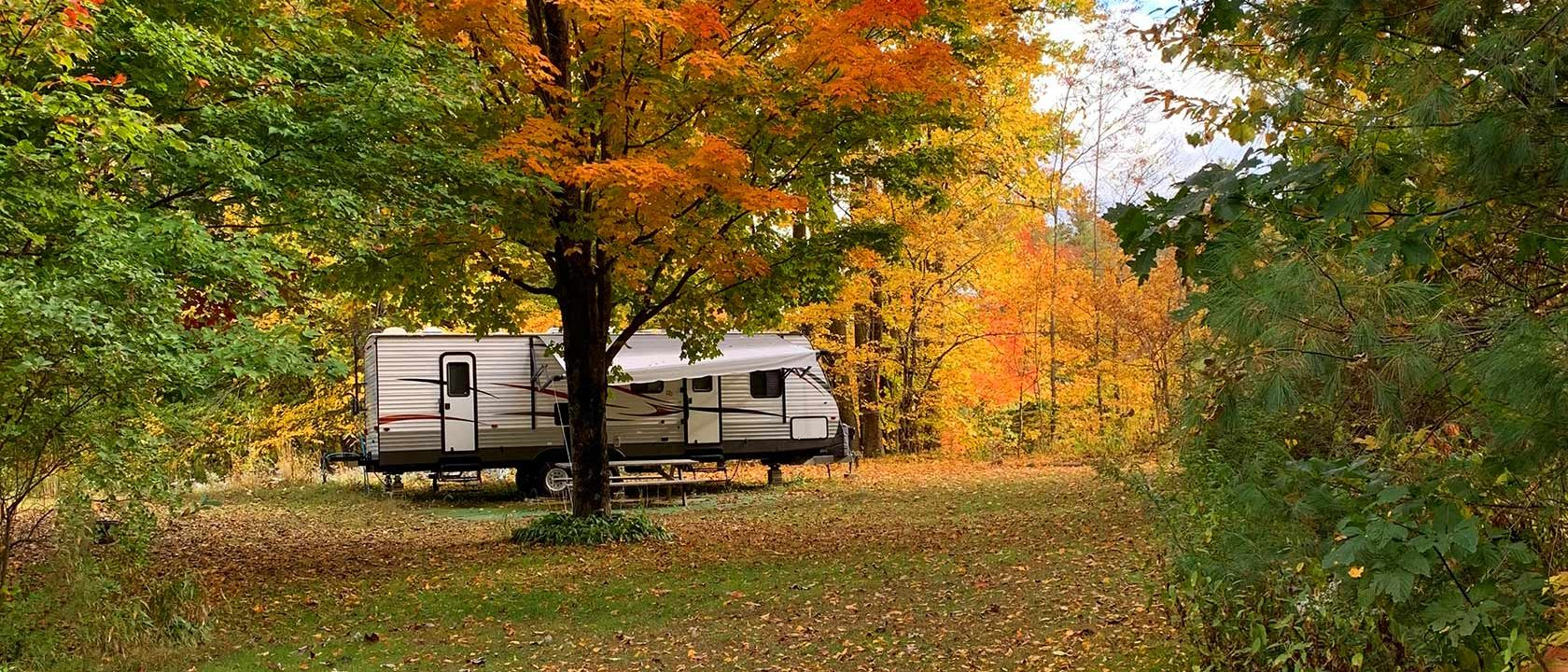 Baker River Camping RV Site